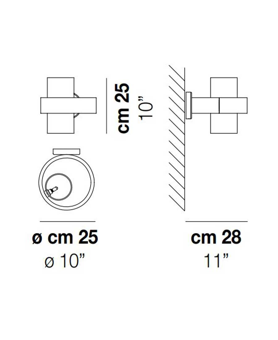 Armonia-AP-25-Dimensions-by-Vistosi