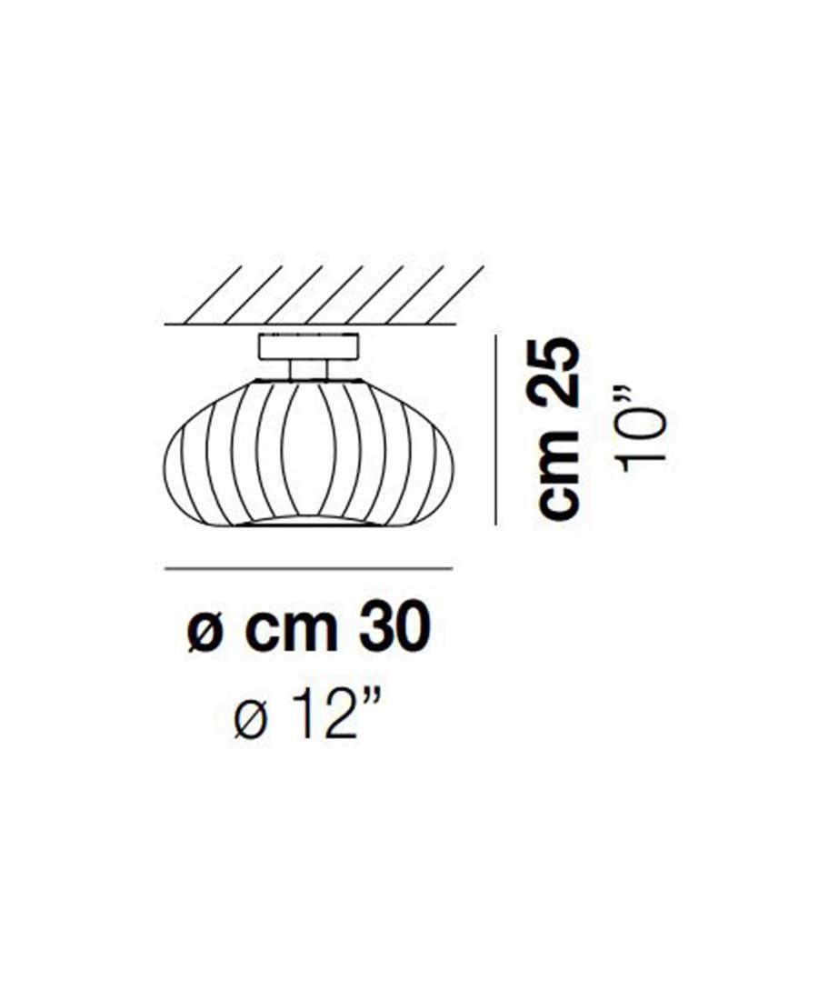 DIAMANTE-PL-G-Ceiling-Light-Dimensions-by-Vistosi