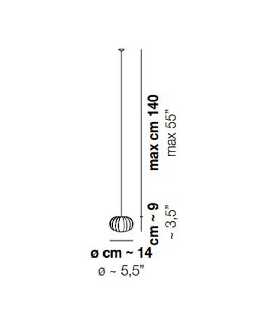 DIAMANTE-SP1-Pendant-Light-Dimensions-by-Vistosi