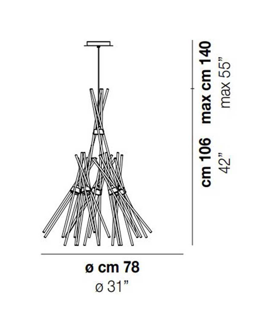 ESSENCESP5-Pendant-Light-Dimensions-by-Vistosi