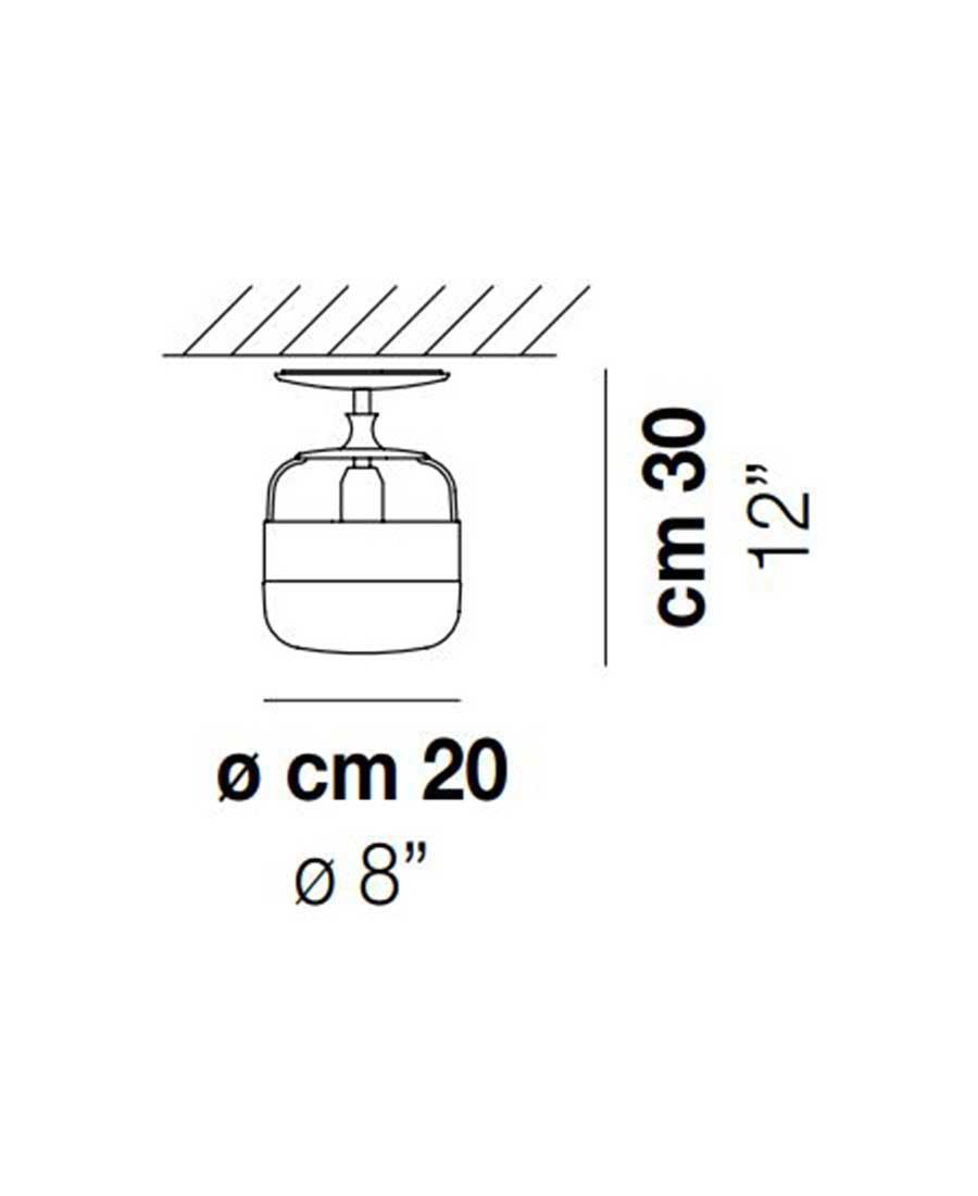 Futura-PL-P-Ceiling-Light-Dimensions-by-Vistosi