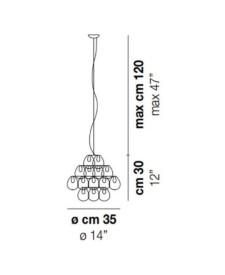 Giogali-SP-35-Pendant-DimensionsLight-by-Vistosi