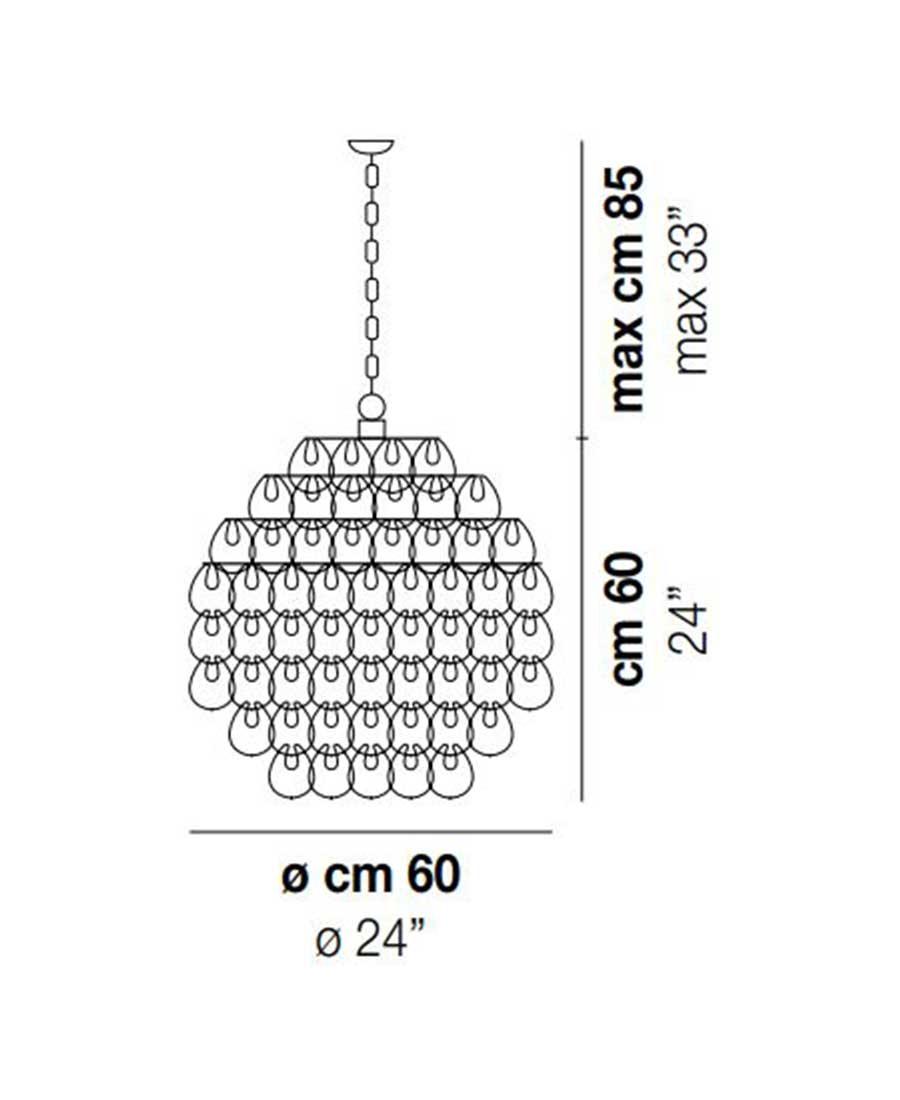 Giogali-SP-60-Pendant-DimensionsLight-by-Vistosi