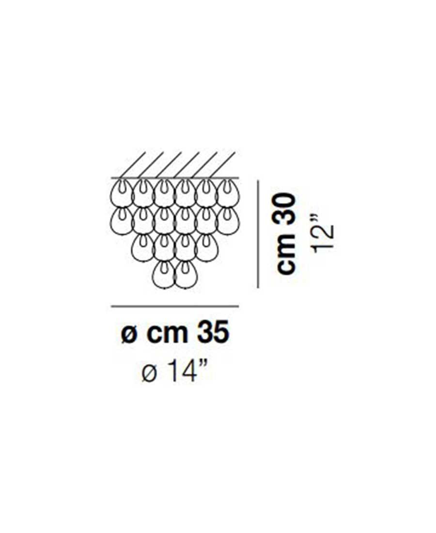 MiniGiogali-PL-35-Ceiling-Light-Dimensions-by-Vistosi