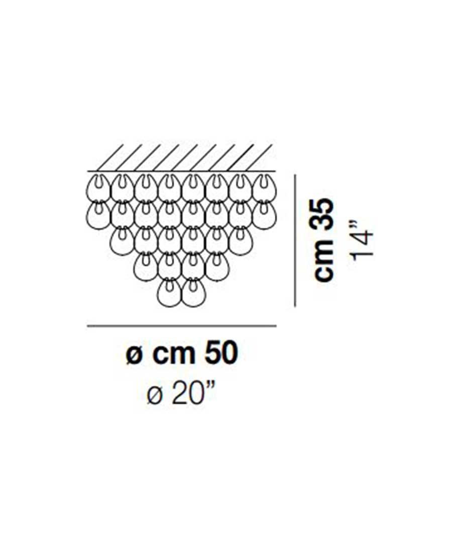MiniGiogali-PL-50-Ceiling-Light-Dimensions-by-Vistosi