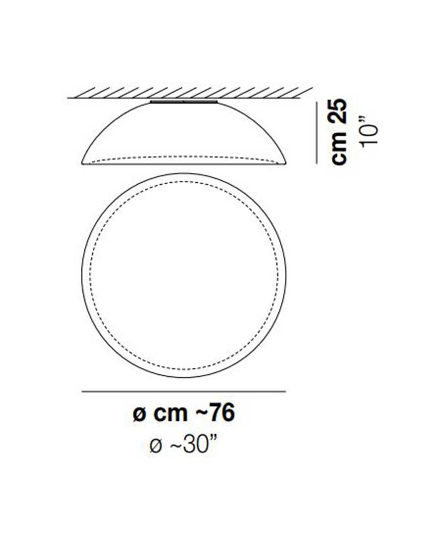Infinita-PL-80-Ceiling-Light-Dimensions-by-Vistosi