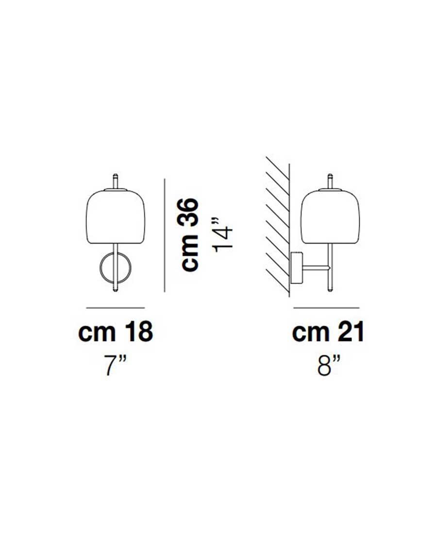 Jube-Wall-Light-Dimensions-by-Vistosi
