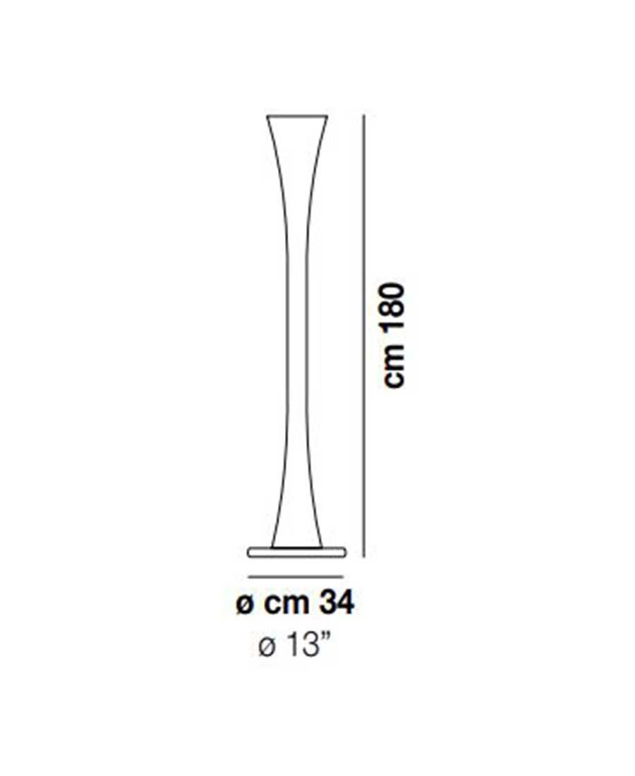 Lepanto-PT-Floor-Light-Dimensions-by-Vistosi