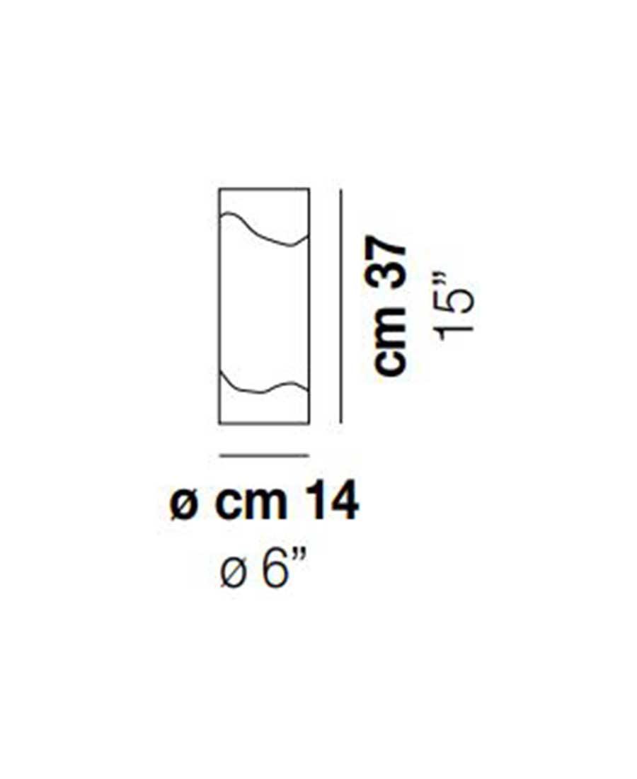 Lio-LT-40-Table-Light-Dimensions-by-Vistosi