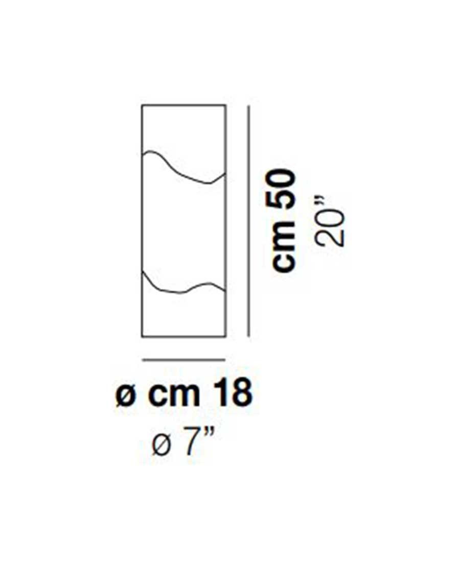 Lio-LT-50-Table-Light-Dimensions-by-Vistosi
