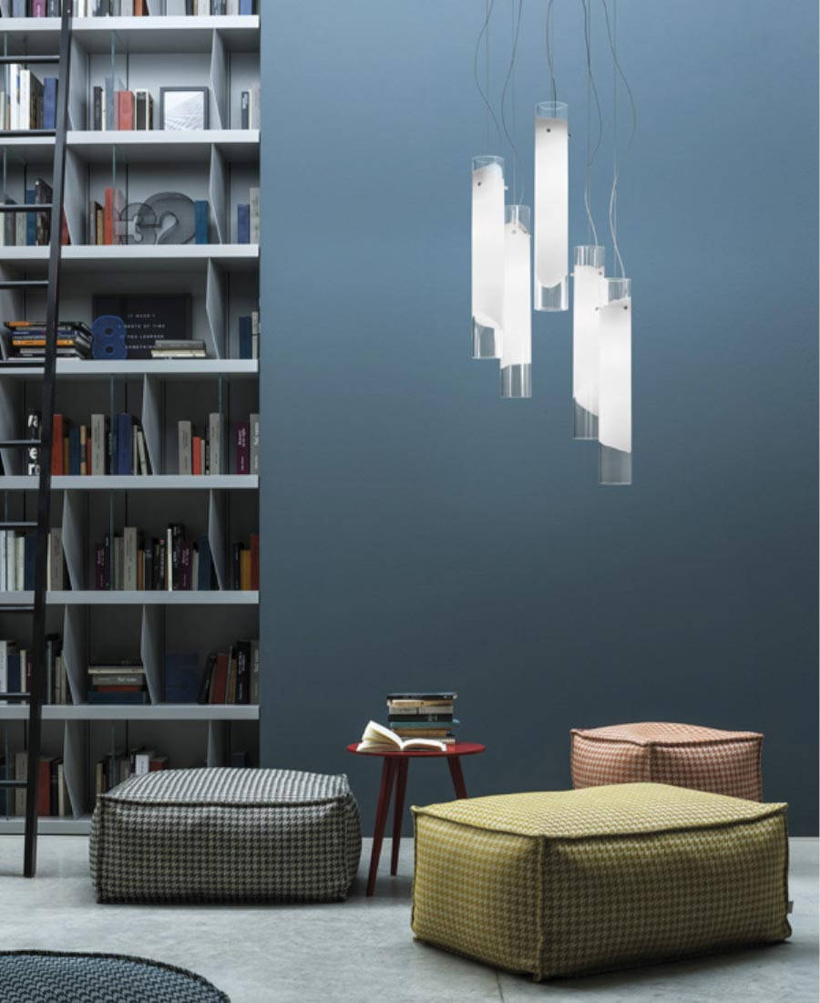Lio Pendant Light by Vistosi