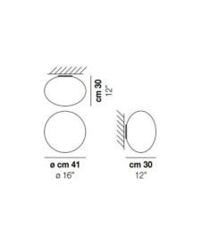 Lucciola-PP-M-Wall-Light-Dimensions-by-Vistosi
