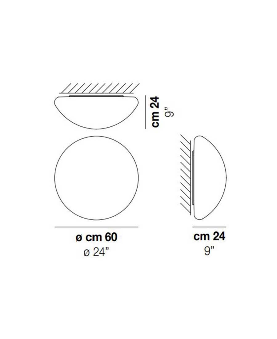 Mia-PP-Wall-Light-Dimensions-by-Vistosi