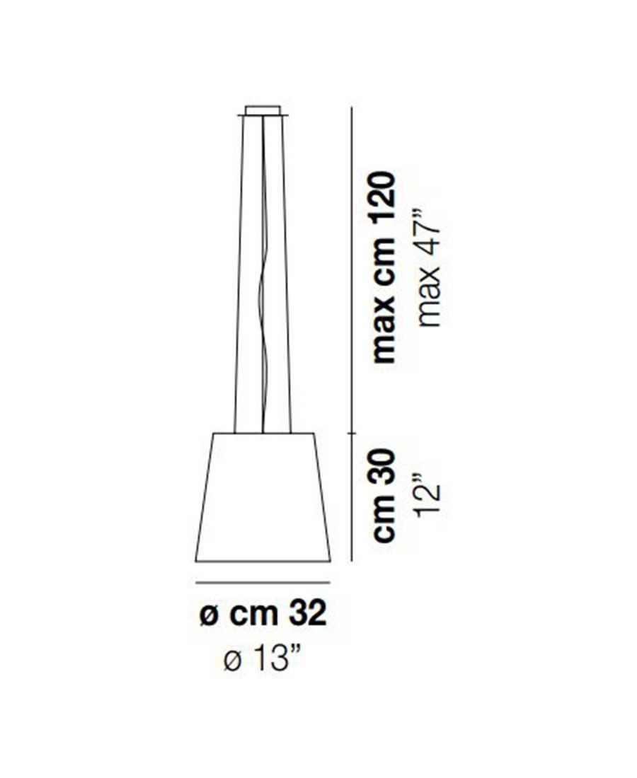 Naxos-SP-50-Pendant-Light-Dimensions-by-Vistosi