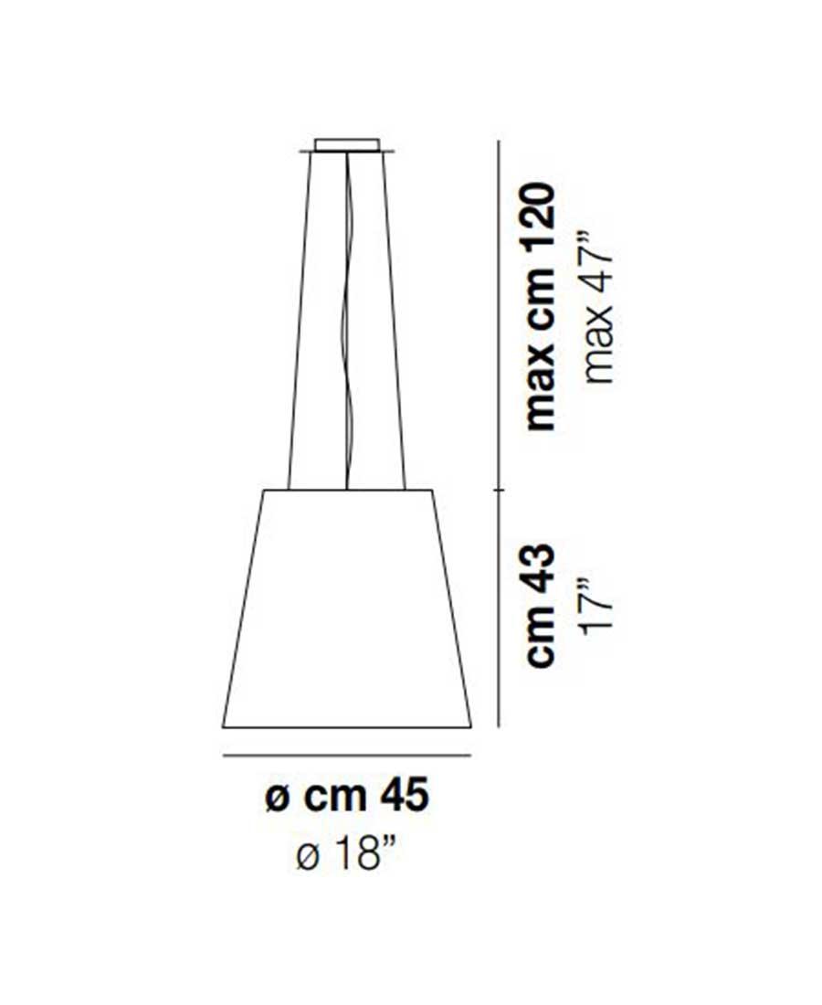 Naxos-SP-76-Pendant-Light-Dimensions-by-Vistosi