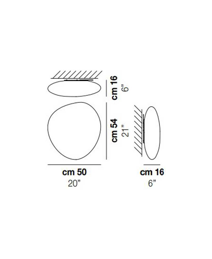 Neochic-PP-G-Wall-Light-Dimensions-by-Vistosi