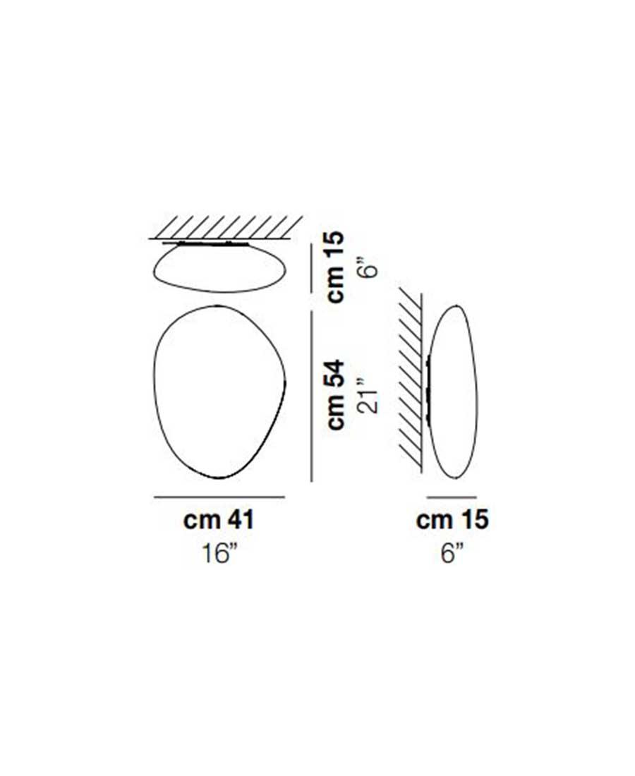 Neochic-PP-R-Wall-Light-Dimensions-by-Vistosi