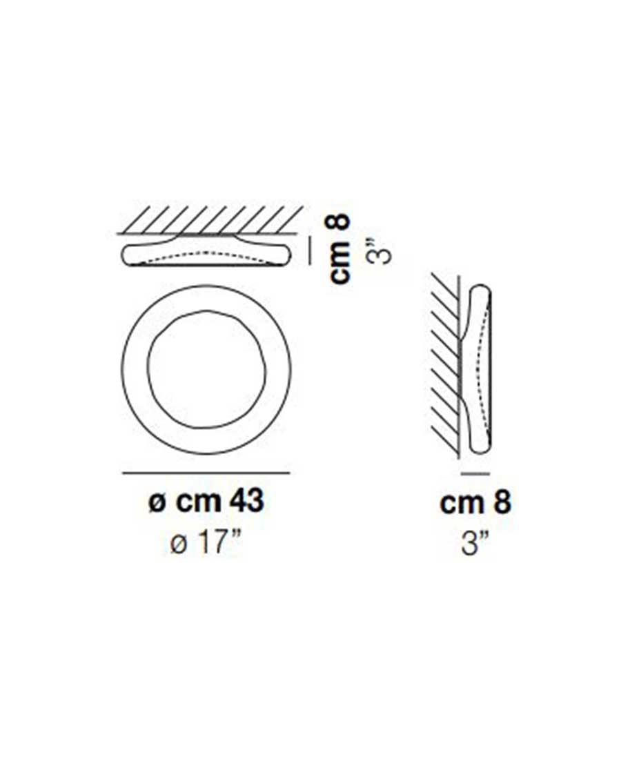 Pod-PP-P-Wall-Light-Dimensions-by-Vistosi