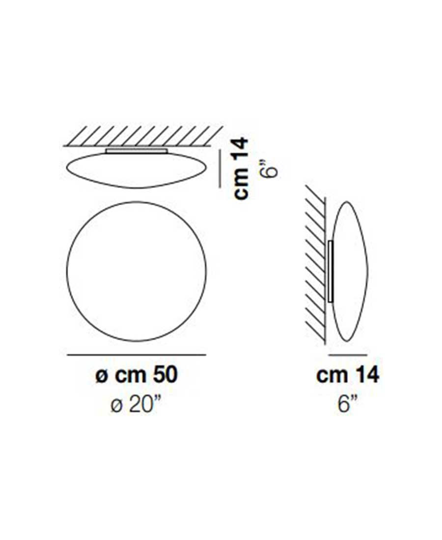 Saba-PP-50-Wall-Light-Dimensions-by-Vistosi