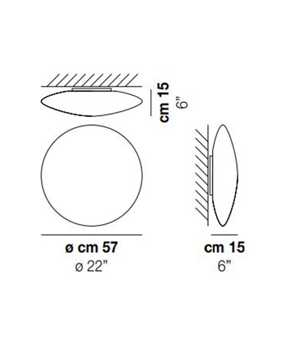 Saba-PP-60-Wall-Light-Dimensions-by-Vistosi