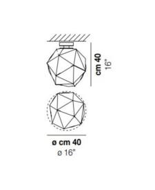 Semai-PL-M-Ceiling-Light-Dimensions-by-Vistosi