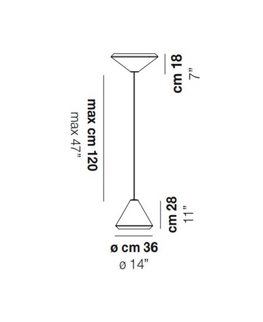 Withwhite-46-Pendant-Light-Dimensions-36cm-by-Vistosi