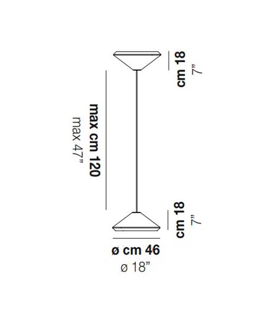 Withwhite-46-Pendant-Light-Dimensions-46cm-by-Vistosi
