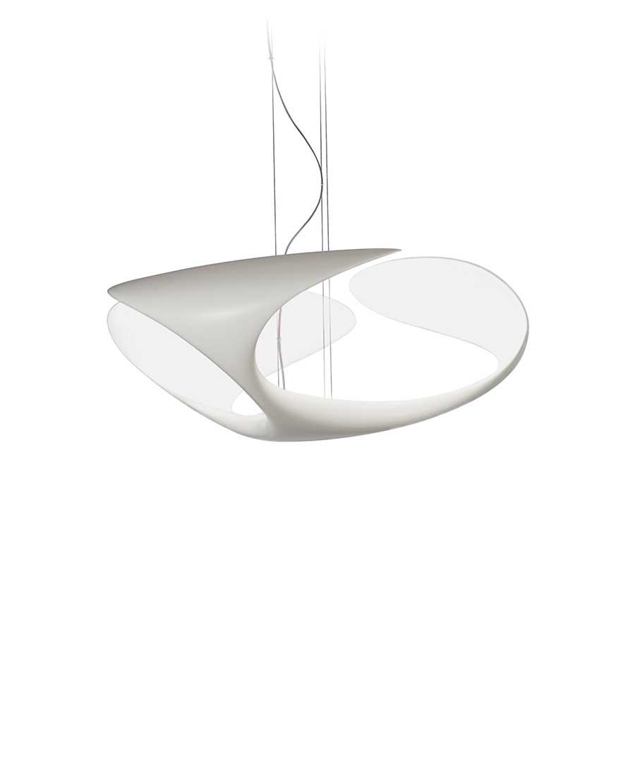 Clover-Suspended-Light-By-Kundalini-white