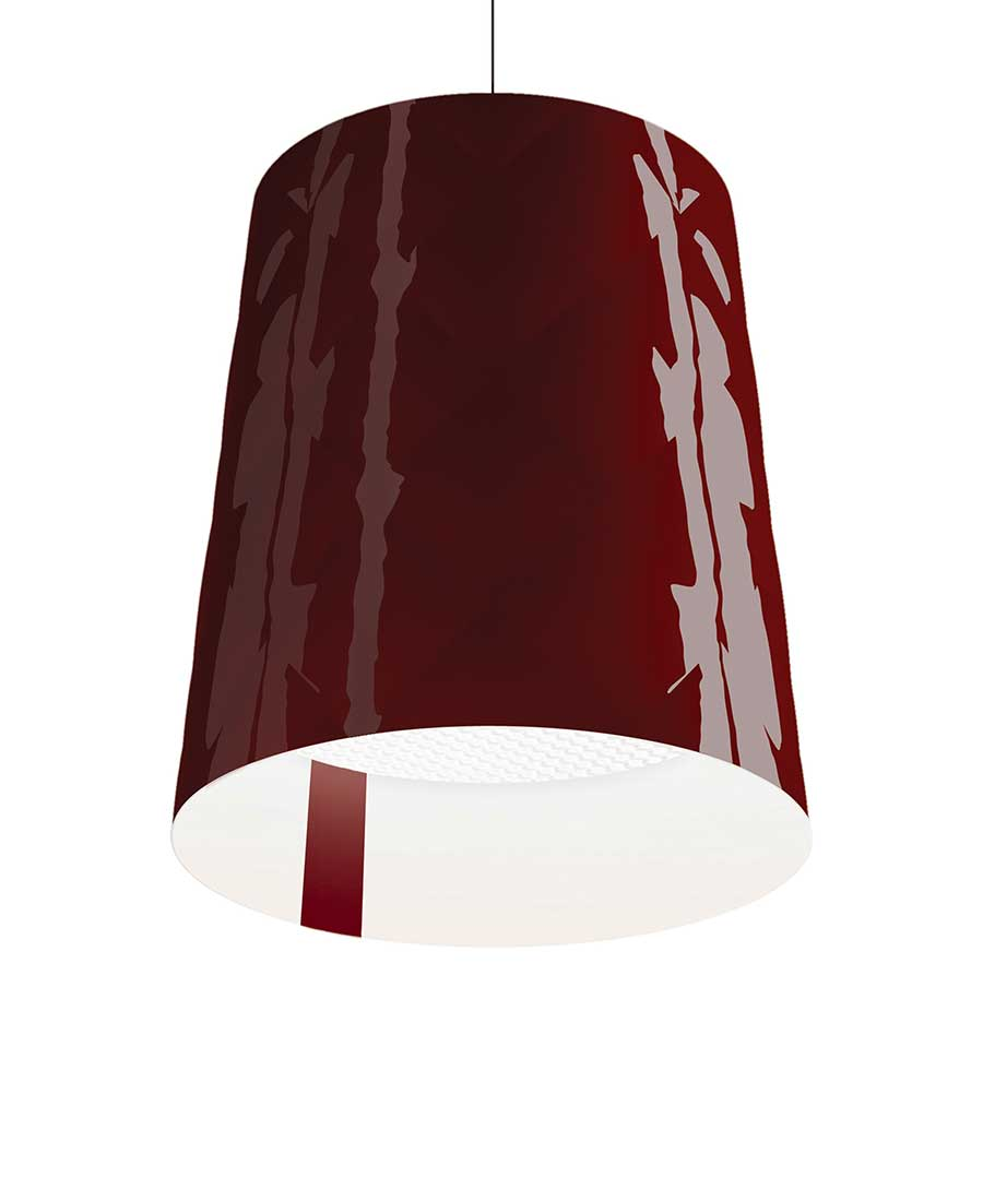 New-York-45-Suspended-Light-By-Kundalini-Red