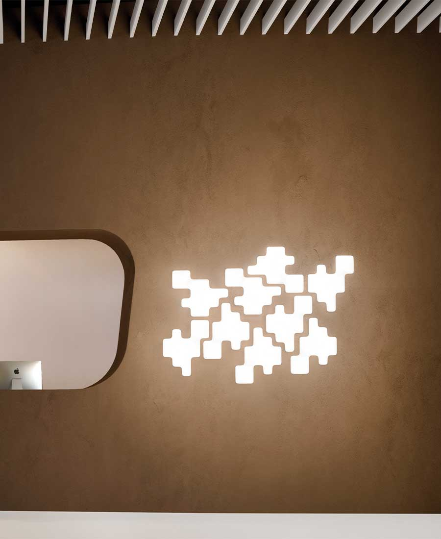 Pixel-Wall-&-Ceiling-Light-By-Kundalini