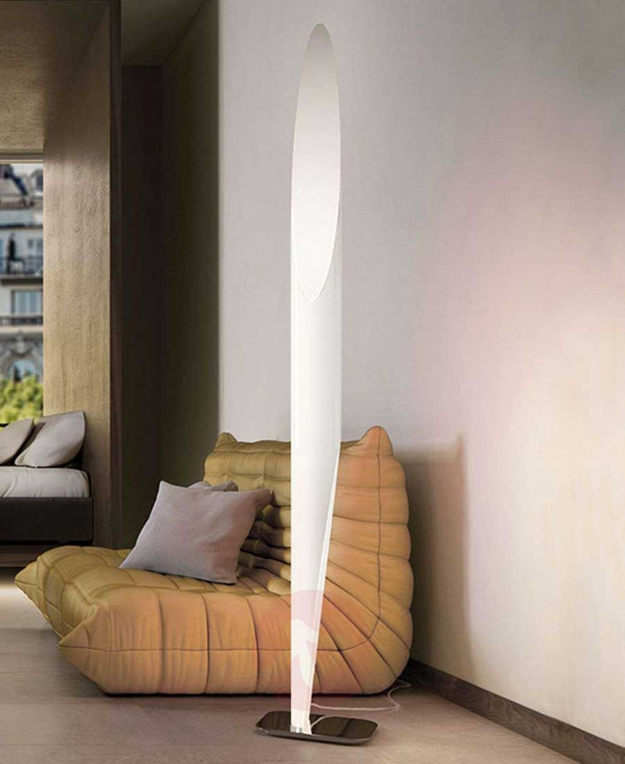 Shakti 250 Polished Base Floor Lamp By Kundalini