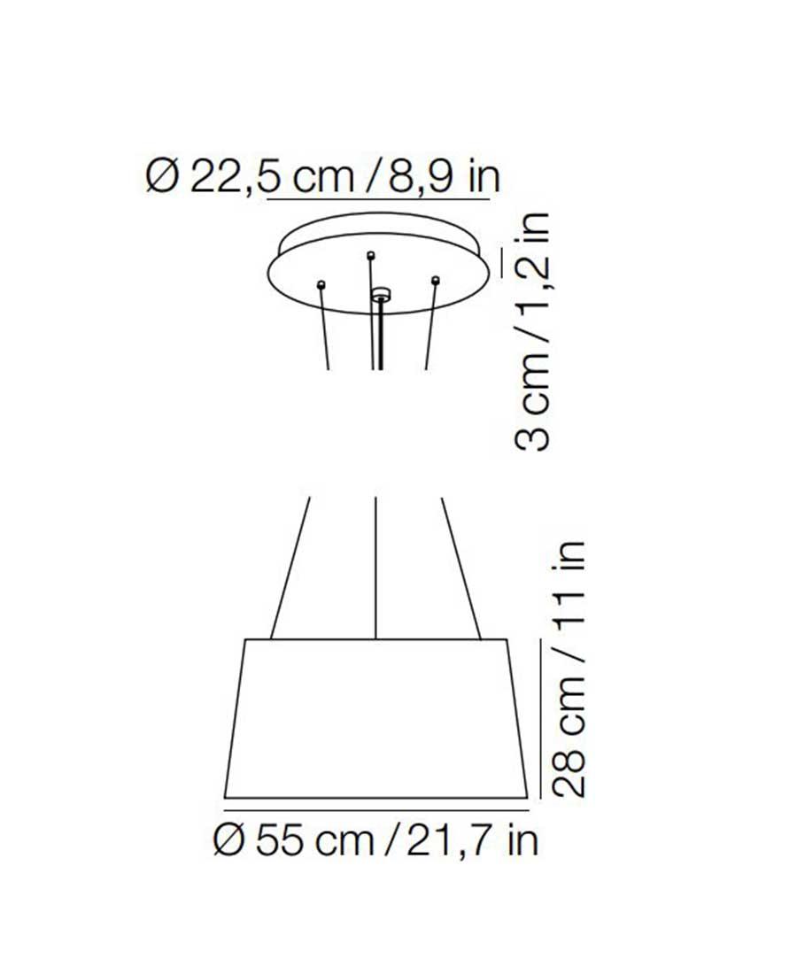 Tripod-Ceiling-Light-Dimensions-By-Kundalini